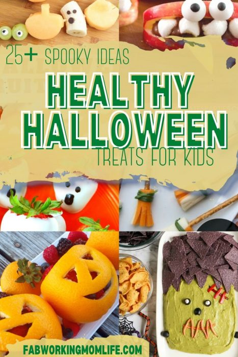 Healthy Halloween Treats for Kids for a Spooky Snack