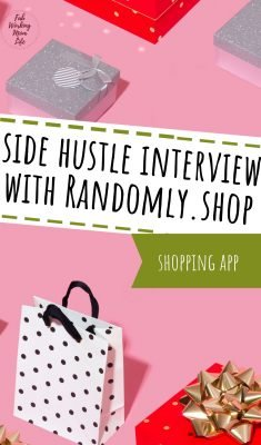 side hustle interview with randomly.shop shopping app